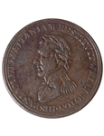 Lower Canada Wellington 1/2 Penny Token WE-11A5 VF-20