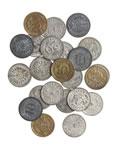 1890 - Group of 23 Model Coins, Mostly German with 2 British