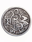 "Love Token - ""D.C.R."" on a Victorian .05 silver host coin"