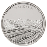 25c 1992 125th Anniversary of Canada Silver Proof - Yukon