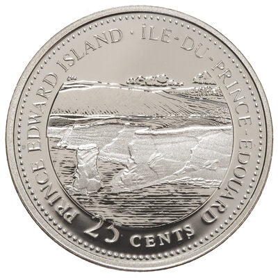 25c 1992 125th Anniversary of Canada Silver Proof - Prince Edward Island