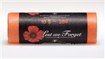 25c 2004 Poppy Coloured Coin Roll