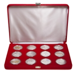 $20 2003 Silver Coin Set - Transportation of Land, Sea and Rail