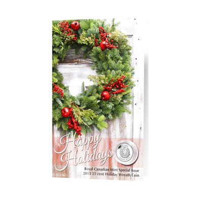25c 2013 Holiday Wreath Coin