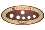 1968-Present Canadian Year Set Oval Collector Coin Board