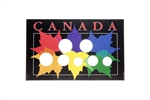 1996 - 2012 Canadian Year Set  Collector Coin Board
