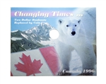 1996 $2 Changing Times - Coin and Banknote Collector Coin Board
