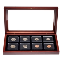 United States 8 Piece Error Coin Set with Hardcover Book