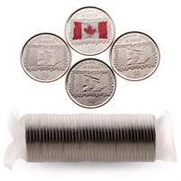 2015 25c Mixed Coin Roll - Flanders Fields