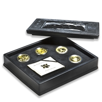 1997-2000 $200 Native Cultures and Traditions - 22-Karat Gold 4-Coin Set