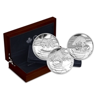 2016 $10 Reflections of Wildlife - 3 Coin Pure Silver Set