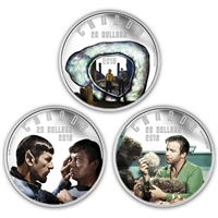 2016 $20 Fine Silver Subscription Set - Star Trek
