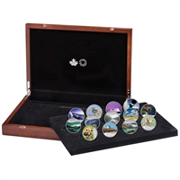 2017 $10 Fine Silver 13-Coin Set Celebrating Canada's 150th