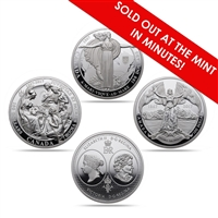 2017 $100 The 1867 Confederation - Pure Silver 3 Coin Set