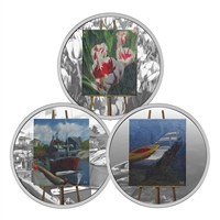 2017 $20 En Plein Air - 3 Coin Pure Silver Subscription Set