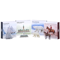 Real Shape Iconic Canada: Four Piece Pure Silver Subscription