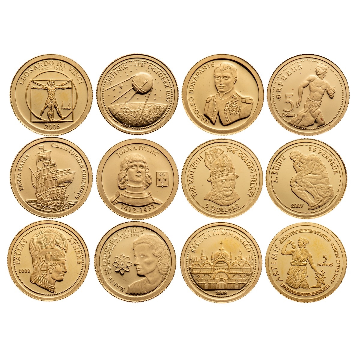 The Smallest Gold Coins Of World