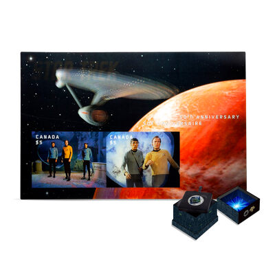 Star Trek Holiday Bundle Stamp and Coin Set