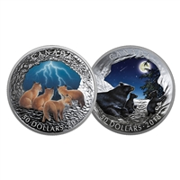 2018 $50 Nature's Light Show Subscription - Pure Silver Coin