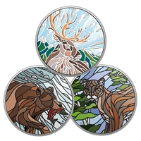2018 $20 Canadian Mosaics Subscription - Pure Silver Coin