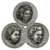 2018 $25 Royal Life Series Set - Pure Silver Coin