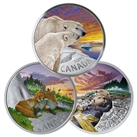 2019 $20 Canadian Fauna Subscription - Pure Silver Coin