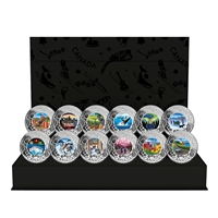 2019 $3 Celebrating Canadian Fun and Fest Subscription - Pure Silver Coin