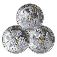 2019 $20 Norse Gods Subscription - Pure Silver Coin