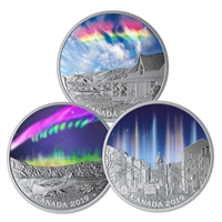 2019 $20 Sky Wonders - Pure Silver 3-Coin Subscription Set