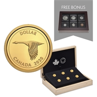 2020 Tribute to Alex Colville -  1/10th oz. Pure Gold 6-Coin Subscription