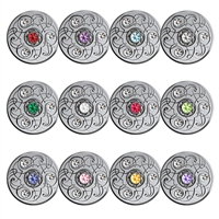 2020 $5 Birthstone Series Subscription - Pure Silver Coin