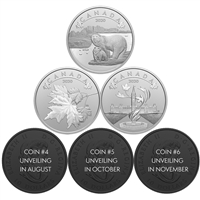 2020 $10 O Canada! - Pure Silver 6-Coin Subscription