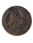 US 1/2 cent 1785 Connecticut Half Penny F-15