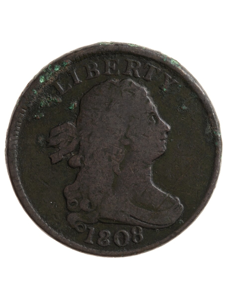 Us 12 Cent 1808 Normal Date F 12 United States Us Coins