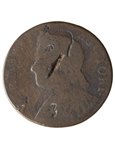US 1/2 cent 1786 Vermont Half Penny VG-8