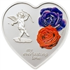 2008 $5 Everlasting Love (Cook Islands) - Sterling Silver Coin