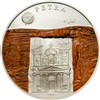 2008 500 Togrog The New 7 Wonders: Petra (Mongolia) - Sterling Silver Coin