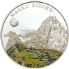 2008 500 Togrog The New 7 Wonders: Machu Picchu (Mongolia) - Sterling Silver Coin