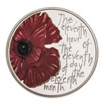 Alderney 2012 5 Pounds Silver Proof Coin - We Shall Remember Them