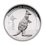Australia 2012 1 Dollar Silver Proof Coin - Kangaroo