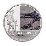 Australia 2011 1 Dollar Silver Proof Coin - Gallipoli 1915