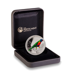 Australia 2013 50 Cents Fine Silver Proof Coin - Rainbow Lorikeet
