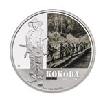 Australia 2012 1 Dollar Silver Proof Coin - Kokoda 1942-1943