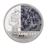 Australia 2012 1 Dollar Silver Proof Coin - Long Tan 1966