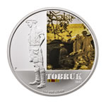 Australia 2011 1 Dollar Silver Proof Coin - Tobruk 1941