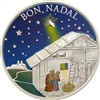 2011 5 Diners Bon Nadal - Sterling Silver Coin