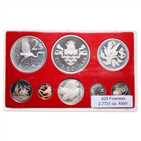 Cayman Islands 1978 5 Dollars Proof Set