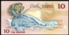 Cook Islands 10 Dollars 1987 Issued note UNC-60