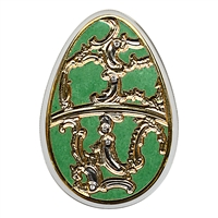 2013 $5 Imperial Eggs: Egg in Olive - Pure Silver Coin