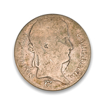 France 5 Francs 1815 The 100 Days G-6